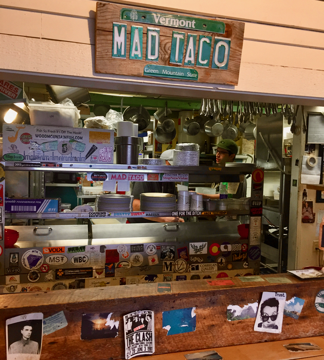 The Mad Taco Waitsfield Vermont