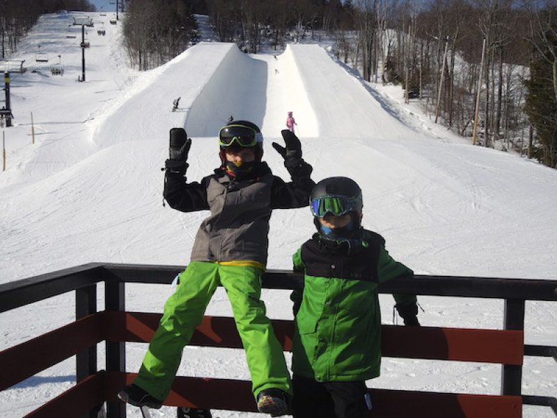 Unpretentious Mount Snow Great for Families