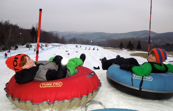 Tubing at Killington