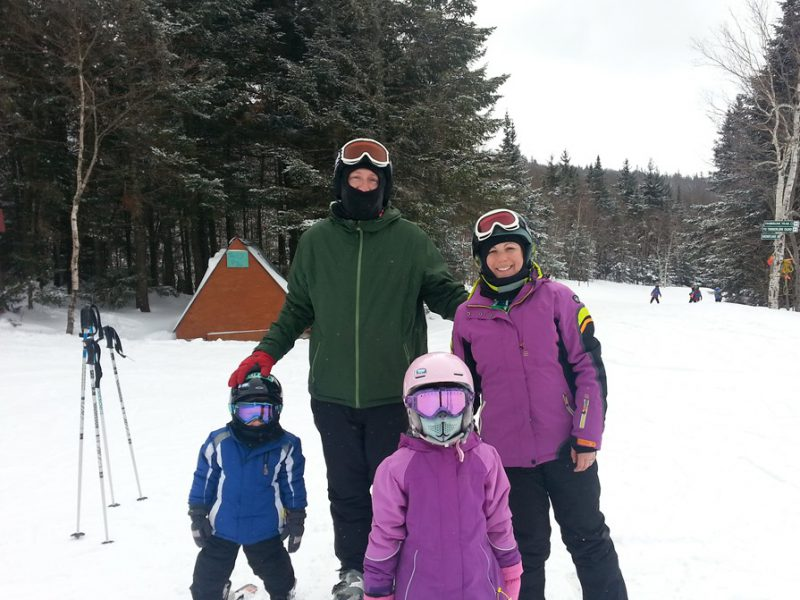Becoming a Skiing Family at Bolton Valley Resort