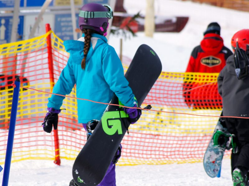 Learning to Snowboard at Stratton