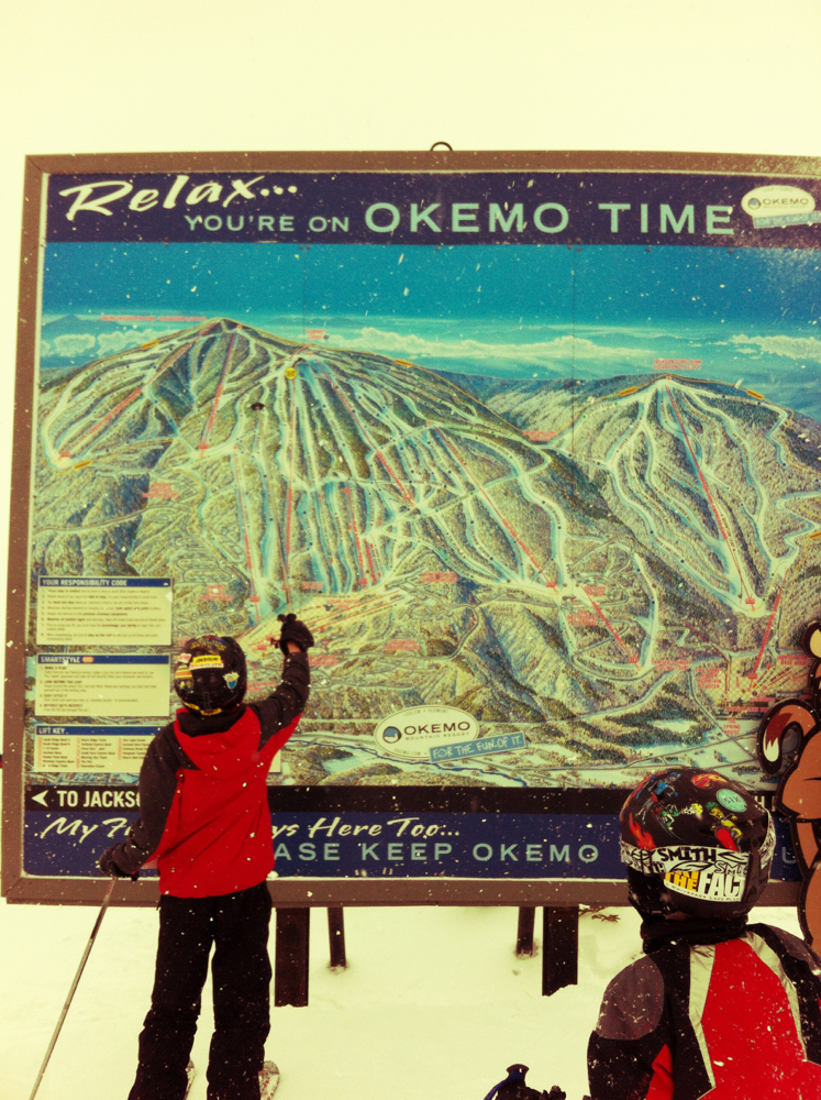 You're on Okemo Time!