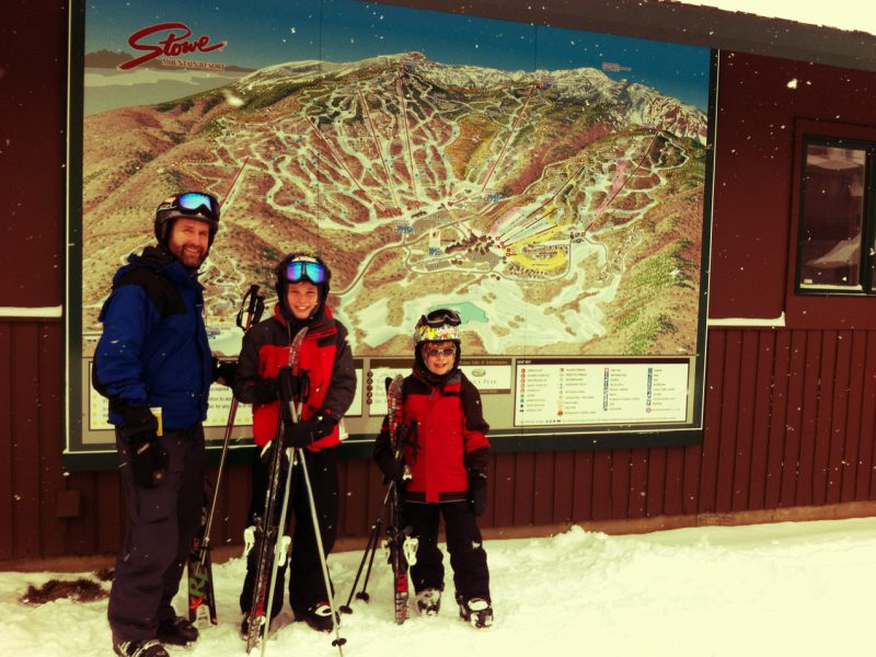 Skiing Stowe Mountain Resort With Kids