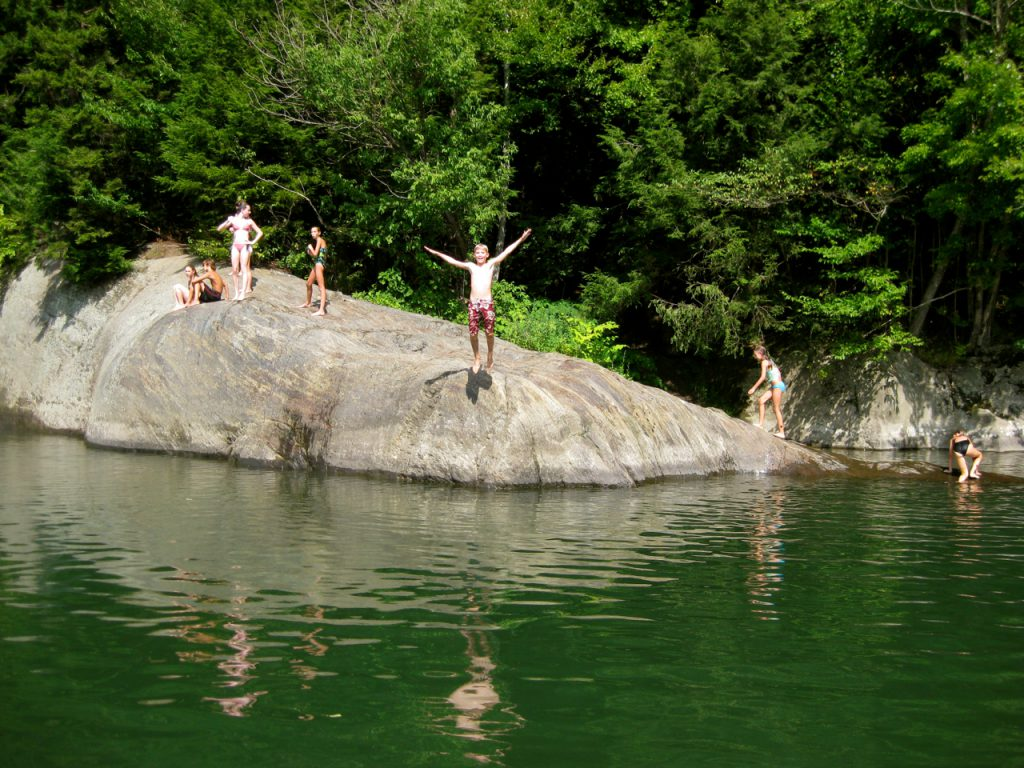 Lareau Swimming Hole Mad River Valley Vermont