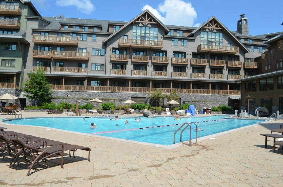 Summer Luxury for Families at the Stowe Mountain Lodge