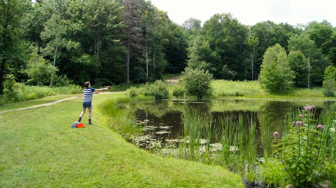 Fishing Pond Mountain Top Inn
