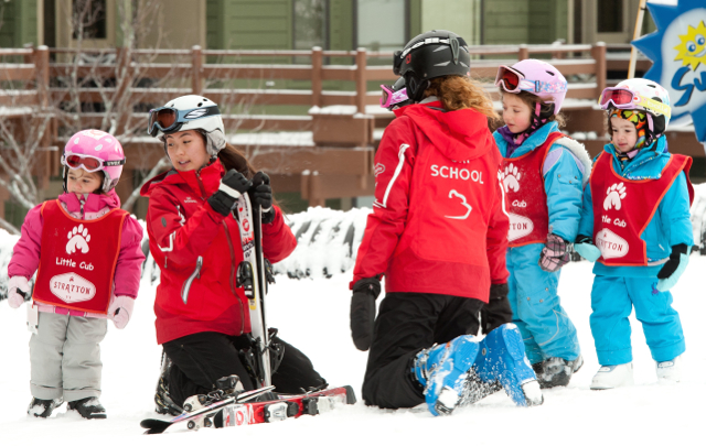 Stratton Mountain Resort Mini Cubs