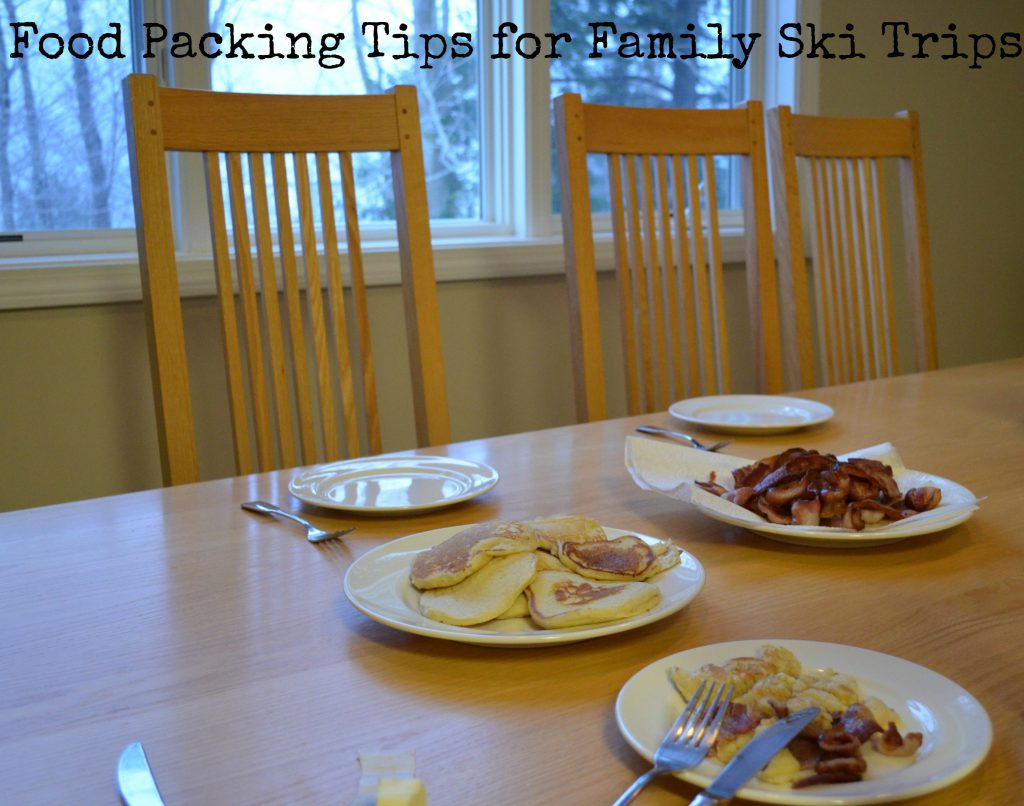 Food Packing Tips for Family Ski Trips