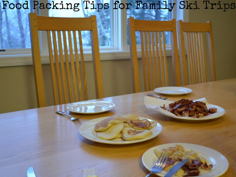 Food Planning Tips for Family Ski Trips