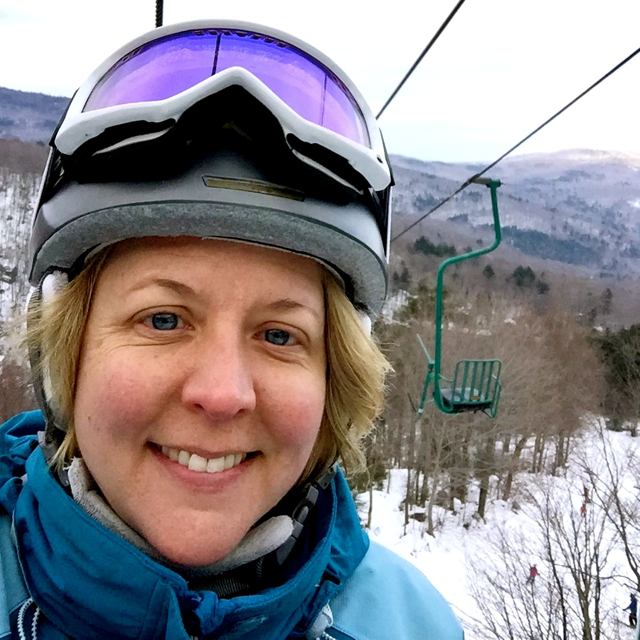 Mad River Glen Single Chair Selfie