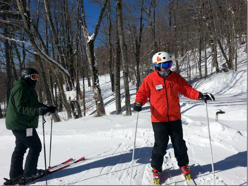 Adult Ski Lessons at Bromley Mountain – You're Never Too Old for Ski School