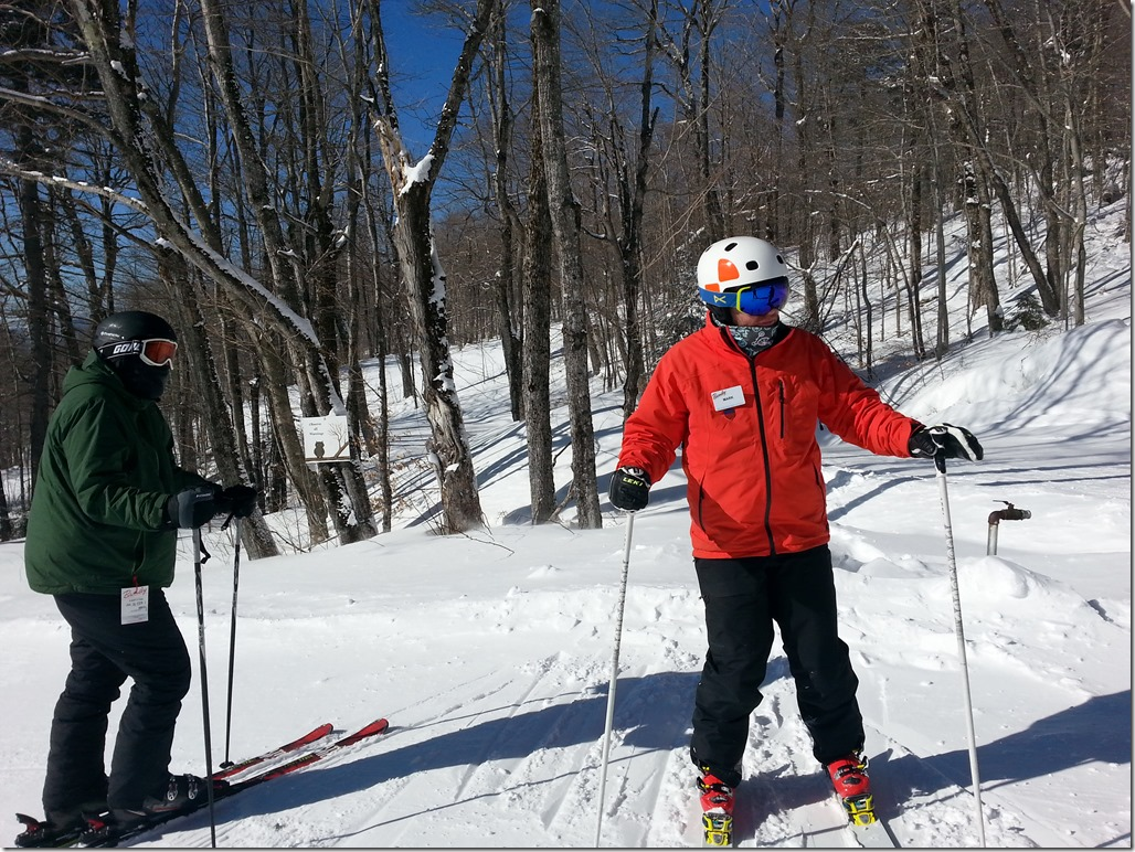 Adult Ski Lessons at Bromley