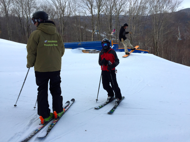 Freestyle lesson at Sugarbush Resort