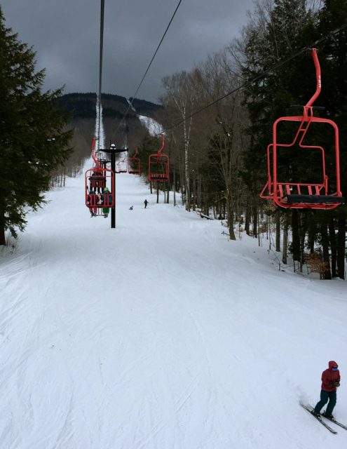 Magic Mountain Vermont Red Chair