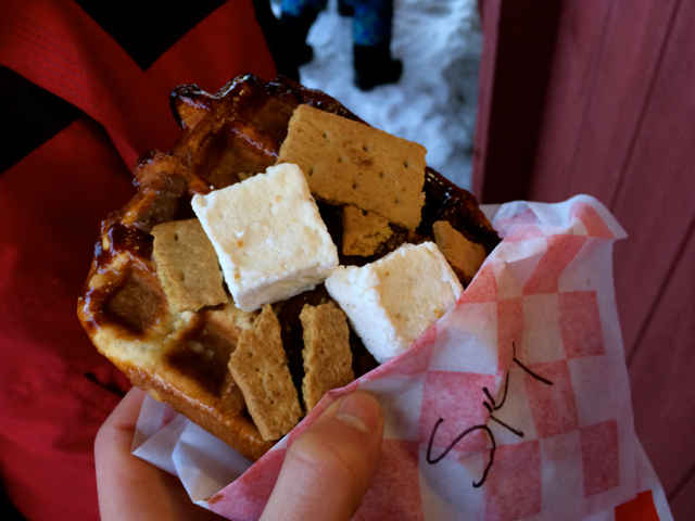 S'more Waffle Sugarbush Resort