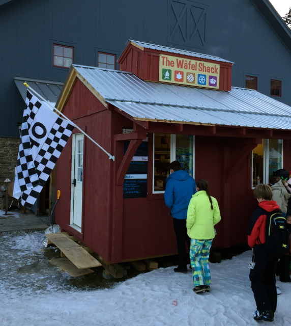 Sugarbush Resort Wafel Shack