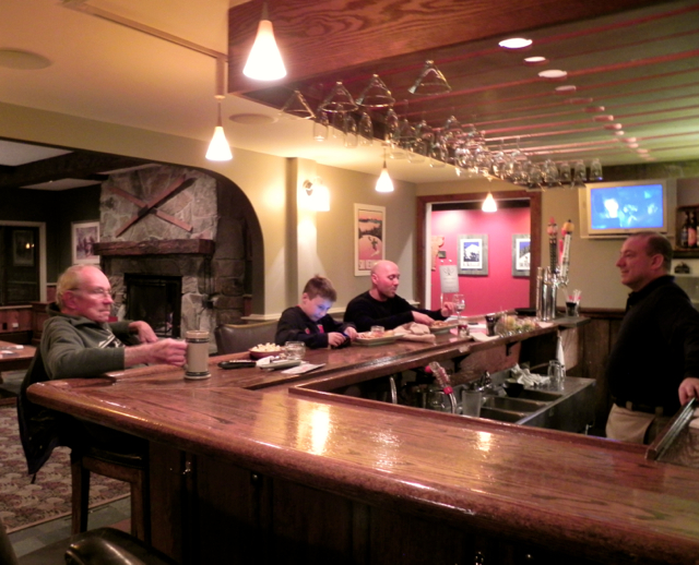 Upper Pass Lodge Bar