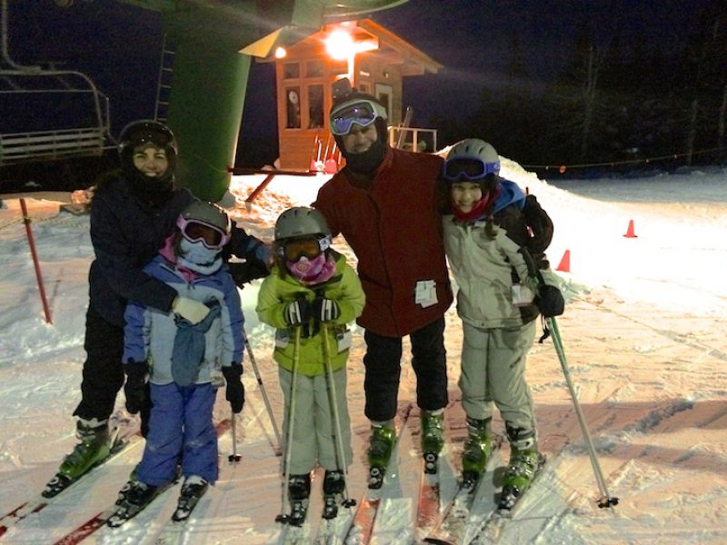 An Evening on the Mountain – Night Skiing at Bolton Valley