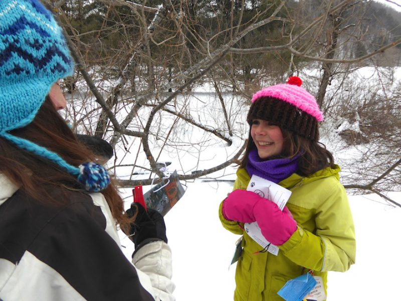 An Afternoon on Snowshoes at the Woodstock Inn