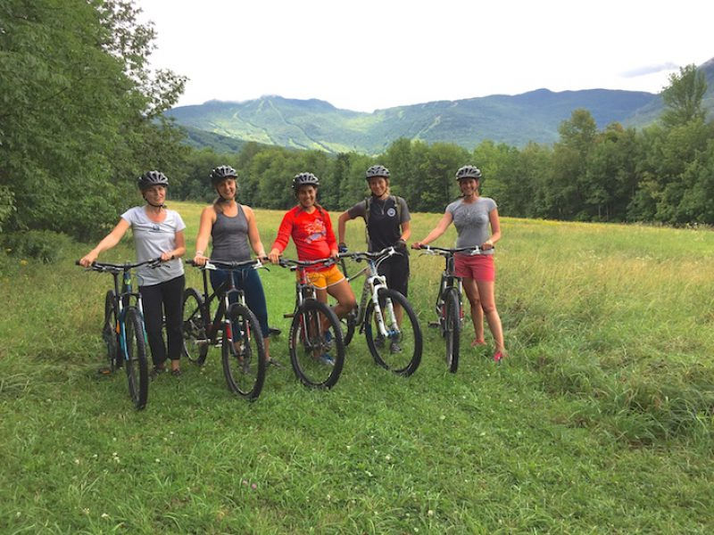 Biking and Bonding at Smugglers' Notch