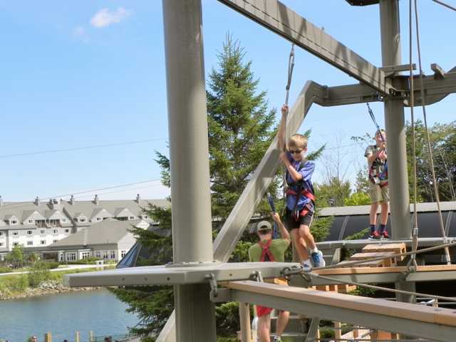 Killington Ropes Course