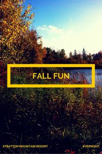 Stratton Mountain Resort Vermont Fall Fun