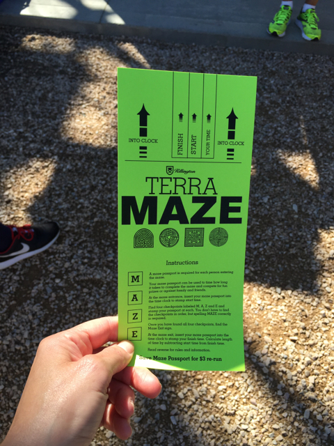 Terra Maze Card Killington