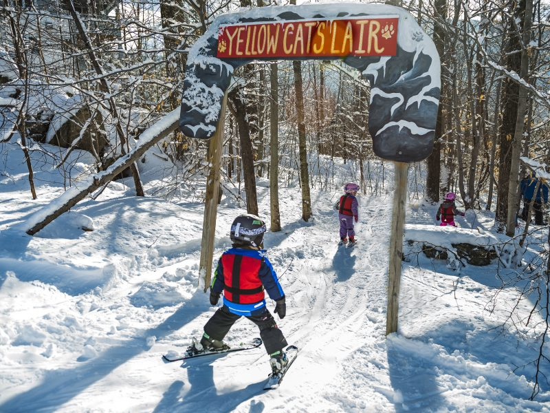 Mild Weather's Silver Lining? It's Great for Beginner Skiers