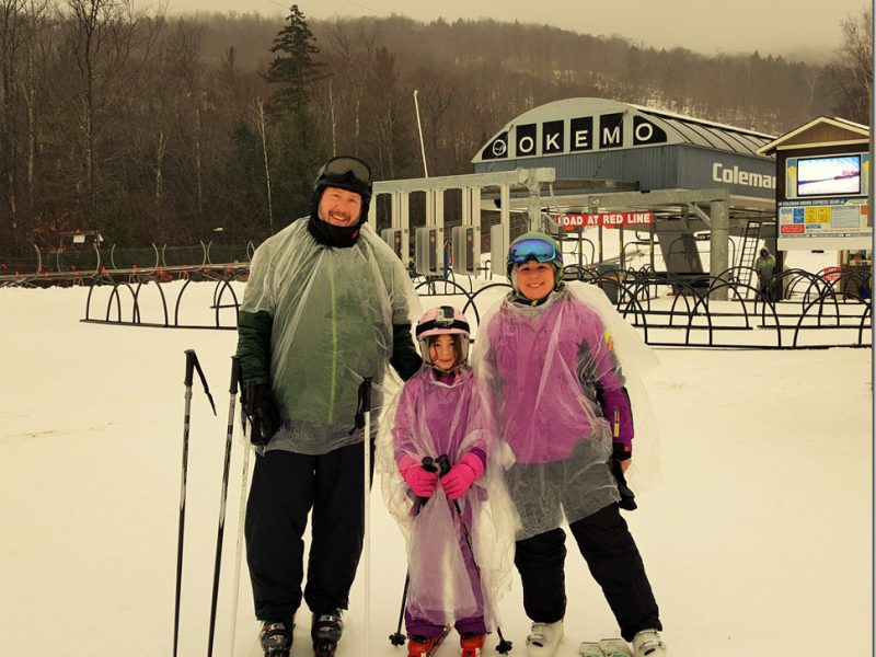 The Upside of Skiing in the Rain