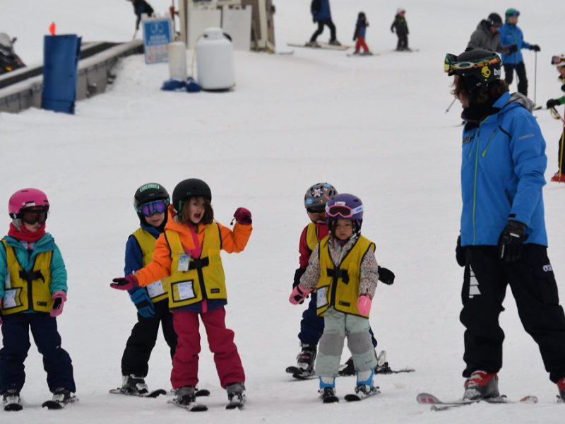 Ski School Fun at Okemo Mountain Resort