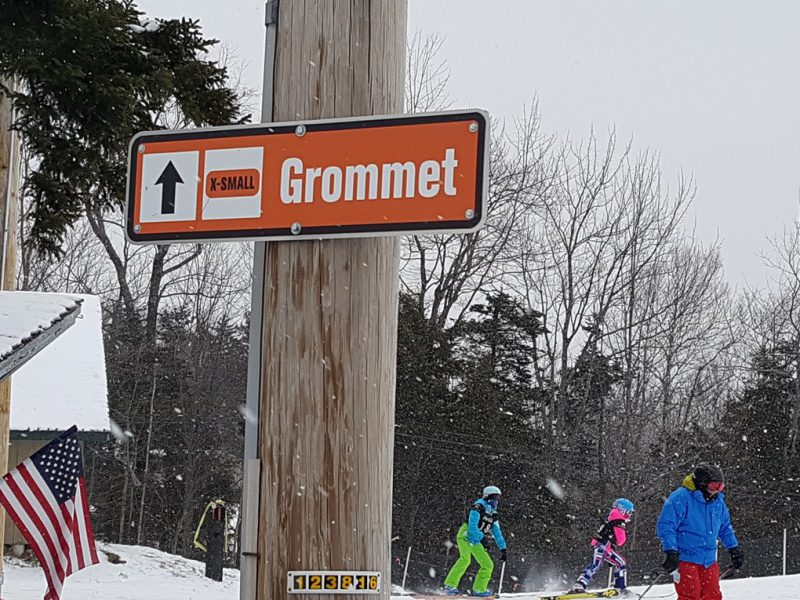 Freeskiing Kids at Mount Snow's Grommet Jam