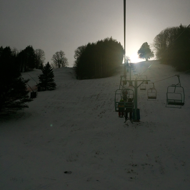 Chairlift Suicide Six Woodstock Vermont