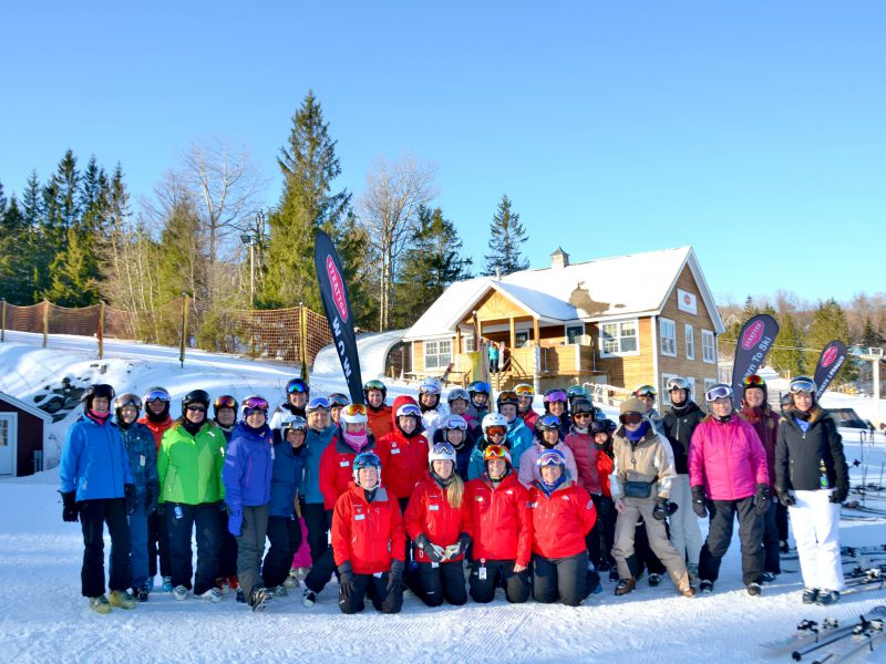 Relearning Turns at the Stratton Women on Snow Ski Camp