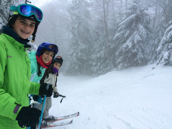 Free range kids at Vermont's Bolton Valley Resort