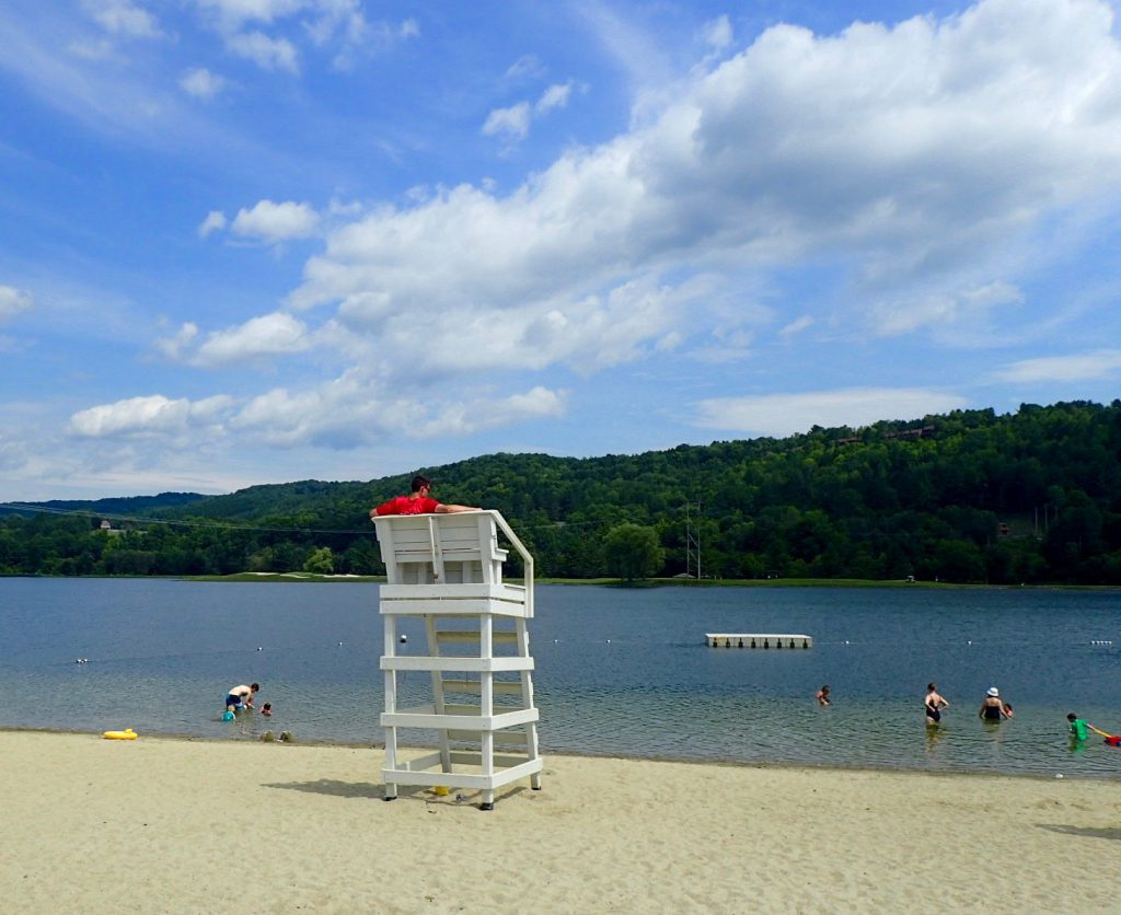 Quechee Club Beach