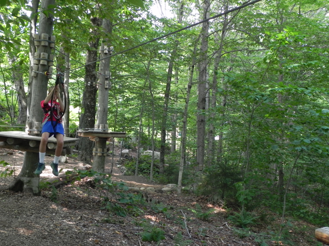 Stowe Mountain Resort Treetop Adventure