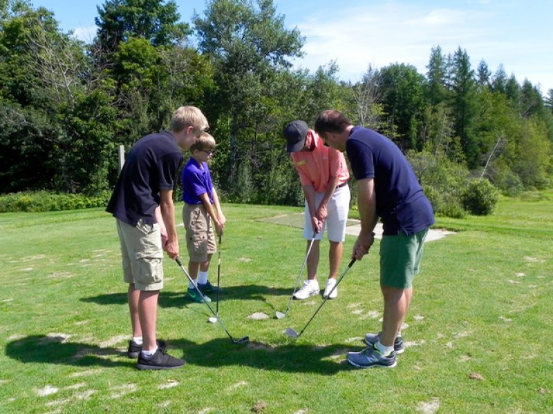 Get the Family Golfing at Sugarbush Resort