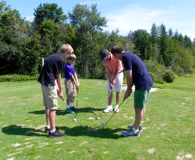 Sugarbush Family Golf Lesson