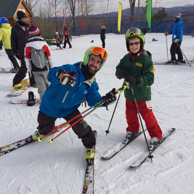 Bromley Mountain ski instructor