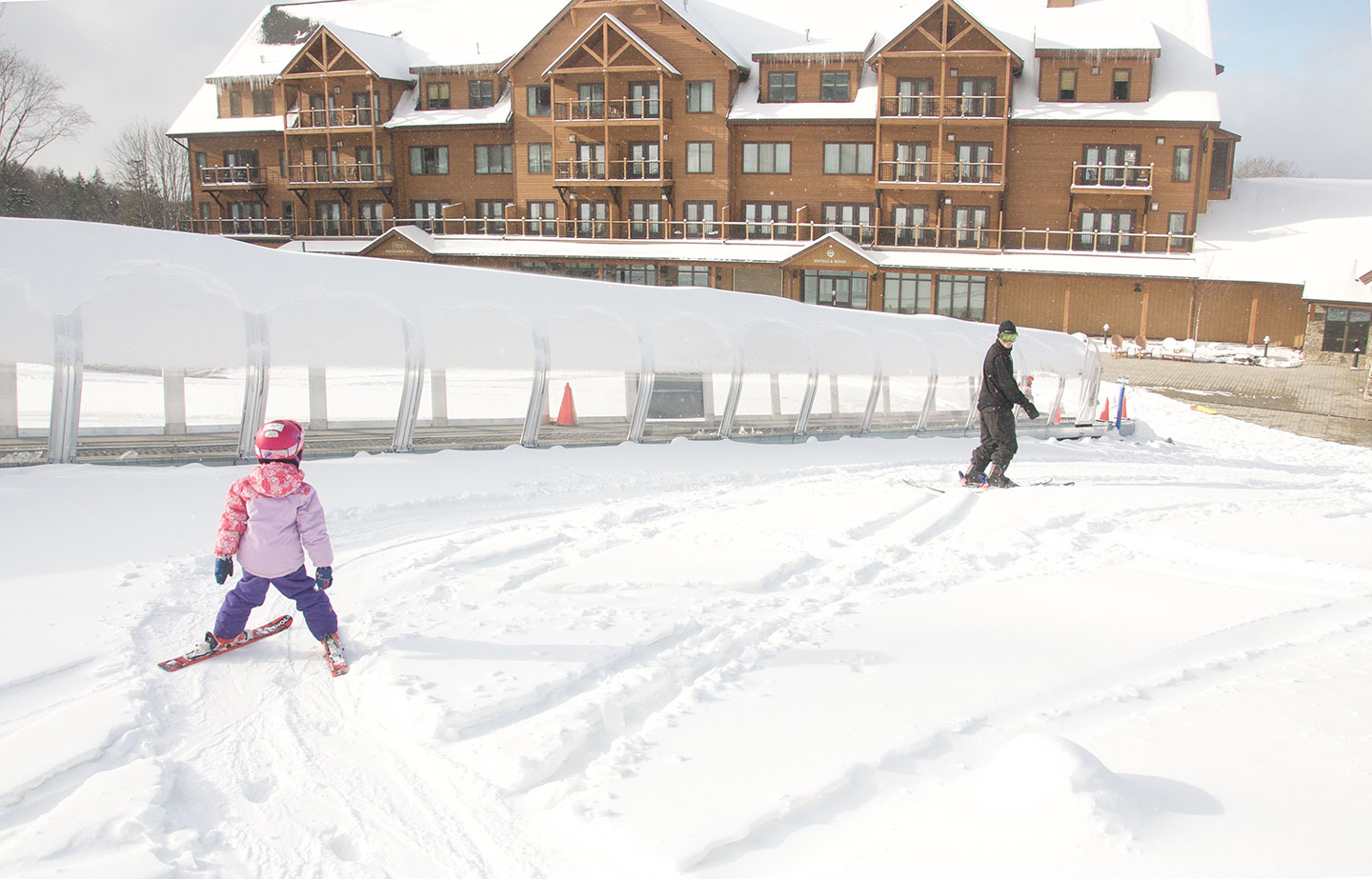 Burke Mountain's New Hotel Offers a Winter Getaway with the Comforts of Home