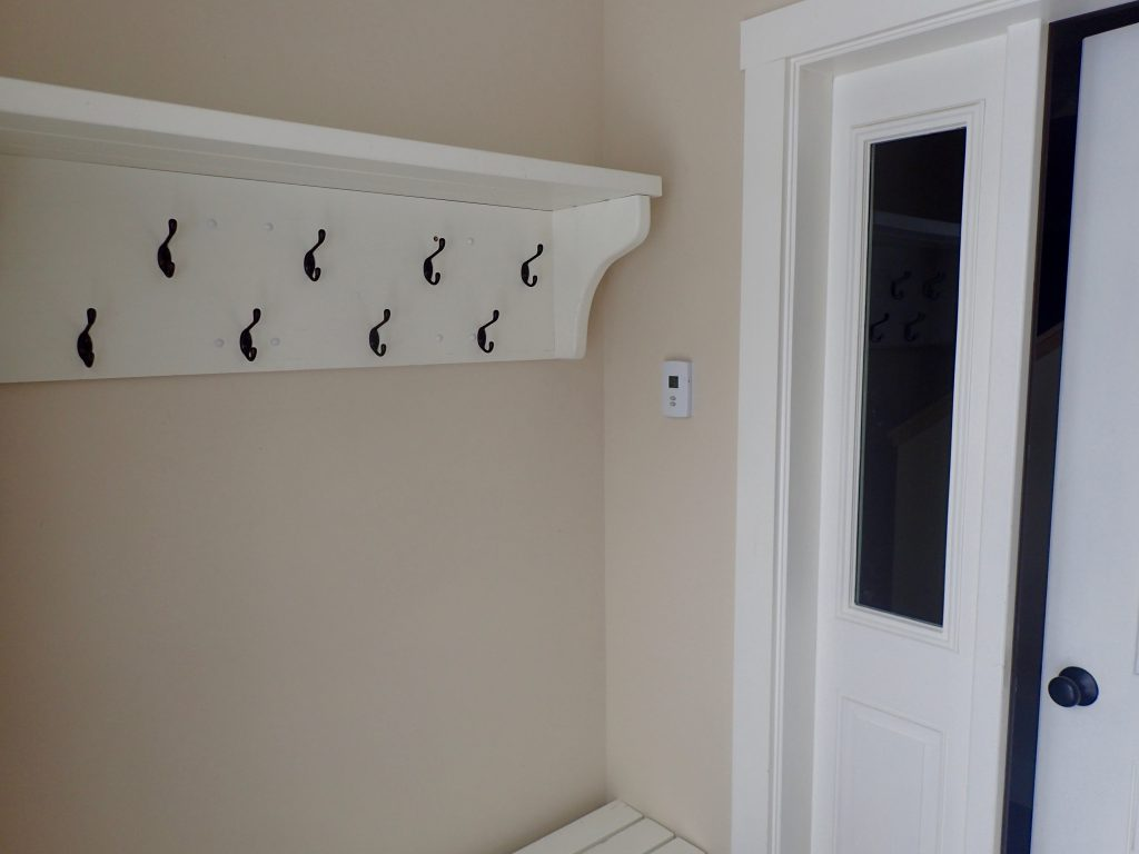Jay peak Cottage Mudroom