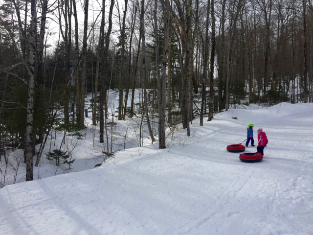 Hermitage Club Tubing Hill