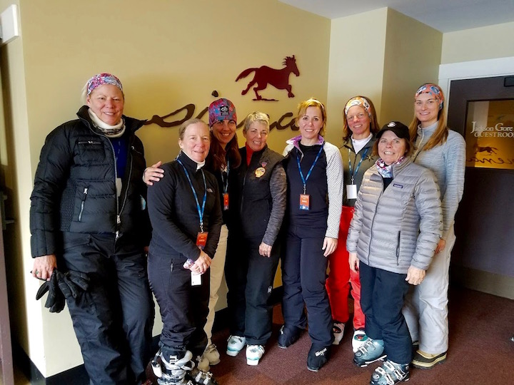 Okemo's Women's Alpine Adventure Clinic