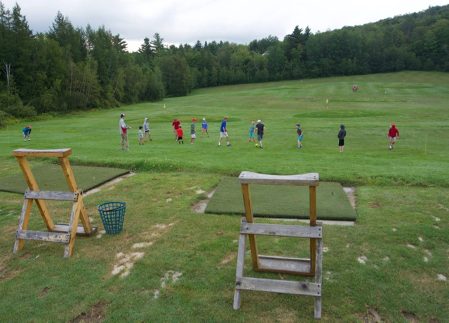 Sugarbush Resort Junior Golf Camp