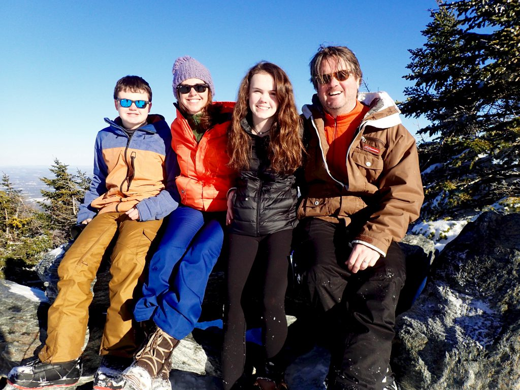 Ski and snowboard family