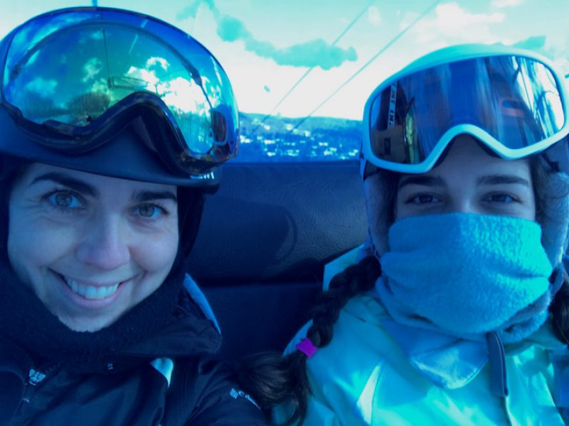A Mother-Daughter Mental Health Day at Mount Snow