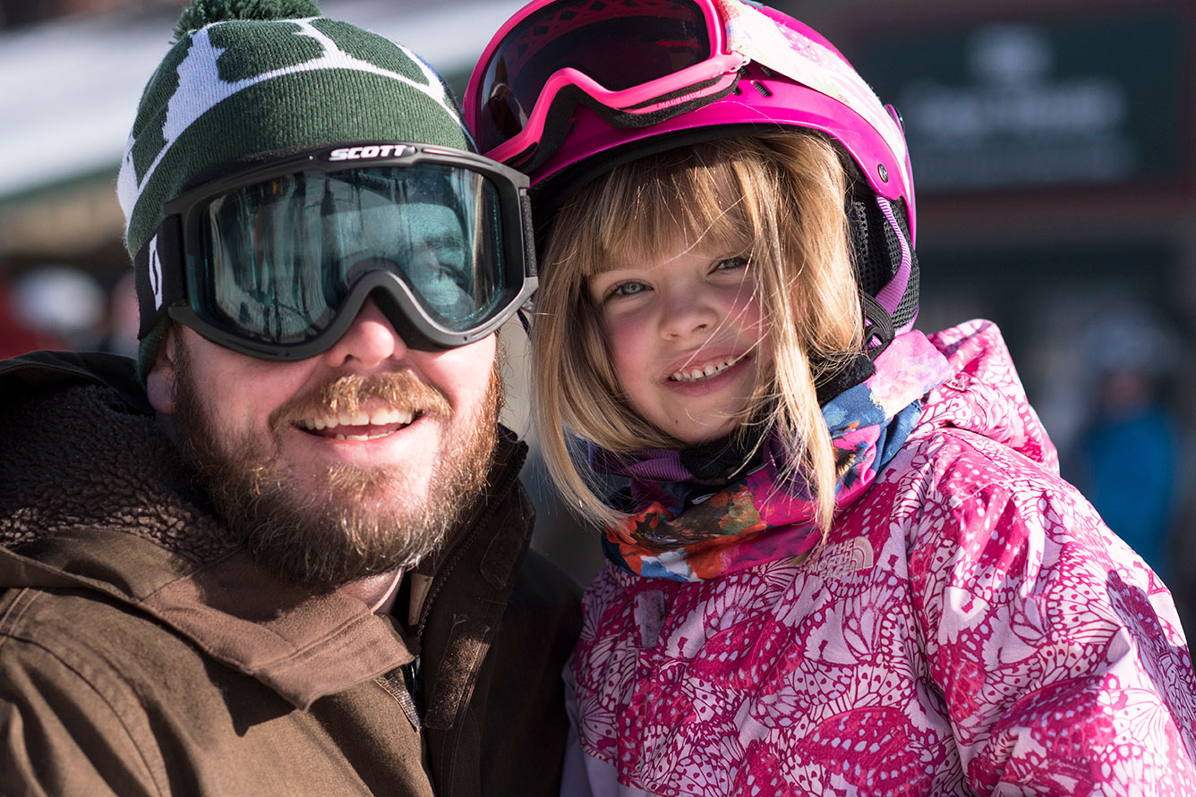 family winter getaway at mount snow