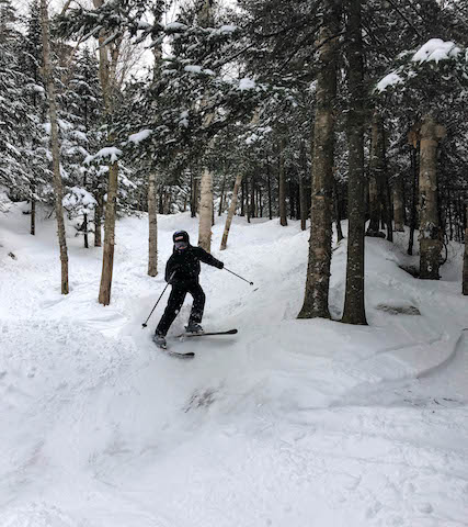 Smugglers Notch Resort Glade Skiing Teen