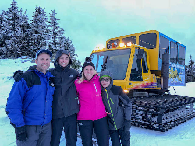 Smugglers Notch Resort Cat Trax Express Evening Tour