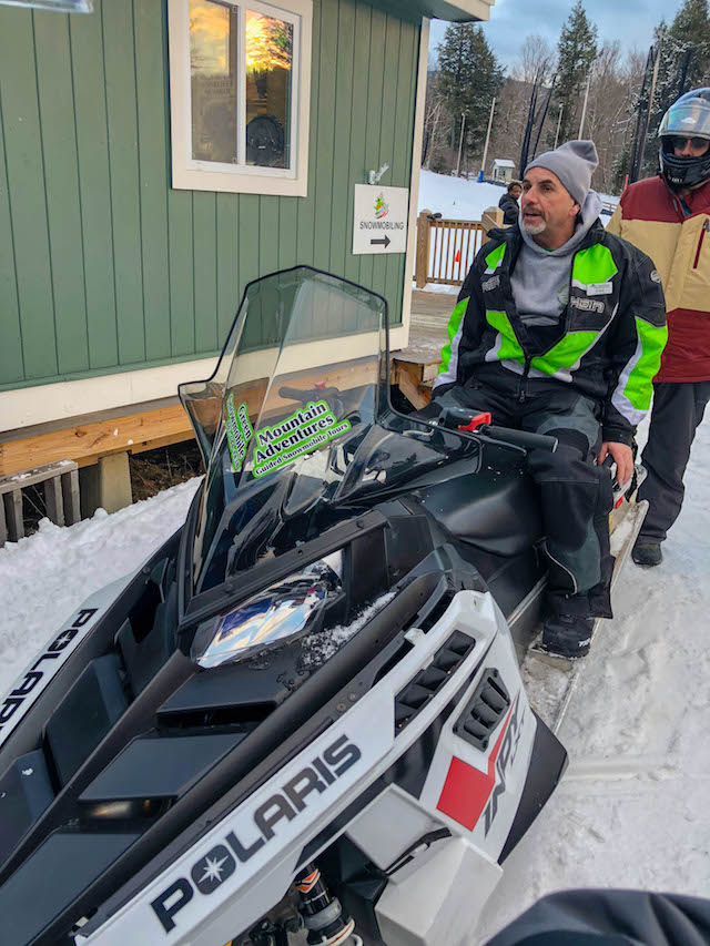 Smugglers Notch Snowmobile tours